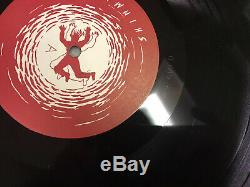 Original GWAR Hell-O! AUTOGRAPHED First Press Vinyl Record Album LP SHIMMY DISC