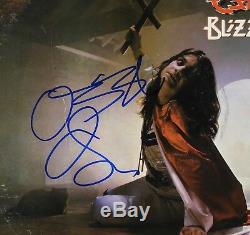 Ozzy Osbourne Signed Autograph Album LP JSA Record Billard Of Oz