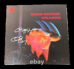 Ozzy Osbourne Signed Black Sabbath Paranoid Album Vinyl Lp Autograph Beckett Bas