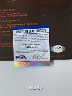 Ozzy Osbourne Signed Blizzard Of Ozz Album LP Vinyl Auto PSA/DNA # AH50171 Used