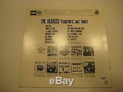 PAUL McCARTNEY Signed Beatles' YESTERDAY AND TODAY Album with PSA COA GRADED 10