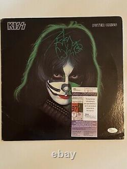 PETER CRISS (Original KISS Member) signed solo Original album custom