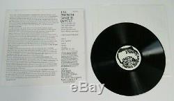 PHARAOH SANDERS Signed Autograph Quintet Album Vinyl Record LP John Coltrane