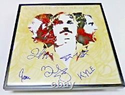 PORTUGAL THE MAN Band SIGNED + FRAMED Church Mouth Vinyl Record Album