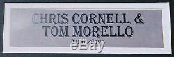 PSA/DNA Audioslave CHRIS CORNELL TOM MORELLO Autographed Signed Record Album