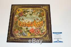 Panic! At The Disco Brendon Urie Signed Pretty. Odd. Vinyl Album Lp Beckett Coa