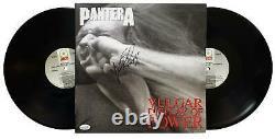 Pantera Vinnie Paul Autographed Signed Record Album LP ACOA