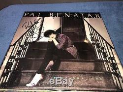 Pat Benatar Signed Autographed Precious Time Record Album LP