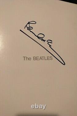 Paul McCartney Beatles White album LP signed autograph in person LOOK Beautiful