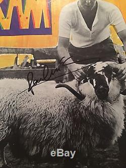Paul McCartney Signed RAM Record Album LP JSA COA Autograph