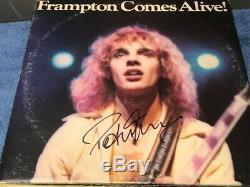 Peter Frampton Signed Autographed Frampton Comes Alive Record Album LP