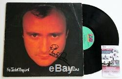 Phil Collins Signed No Jacket Required Lp Vinyl Record Album Autographed Jsa Coa