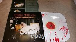Pierce the veil A flair for the dramatic band autograph signed LP album #1