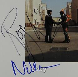 Pink Floyd JSA Roger Waters Nick Mason Wish You Signed Autograph Record Album