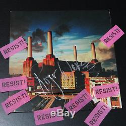Pink Floyd Roger Waters signed Animals Album with 2017 tour confetti