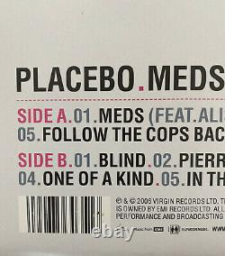 Placebo SIGNED Vinyl Record Album Meds 2006 Made in England