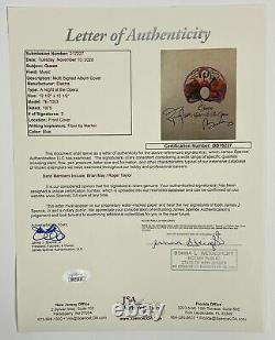QUEEN BRIAN MAY & ROGER TAYLOR Autograph Signed A Night at the Opera Album Rec