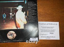 RARE Lynyrd Skynyrd Signed Autograph LP Record Album Van Zant Caines All 6 COA