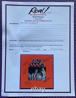 RARE (REAL) Epperson ALICE COOPER signed x 5 EASY ACTION album autographed