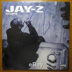 RARE Sean JAY-Z Carter Signed The Blueprint Vinyl Album LP JSA COA
