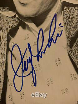 (REAL) Epperson certified JERRY LEE LEWIS signed NUGGETS ALBUM autographed