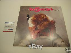 ROD STEWART Signed OUT OF ORDER Album with PSA COA