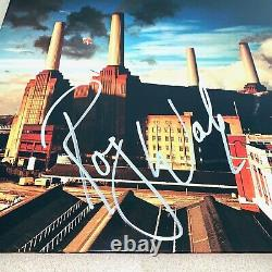 ROGER WATERS signed autographed ANIMALS ALBUM SLEEVE PINK FLOYD BECKETT BAS COA