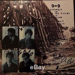 R. E. M Autographed Murmur Record Album LP Hand Signed By All 4 REM Rare