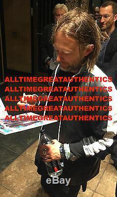 Radiohead Band Signed'ok Computer' Record Album Bas Beckett X5 Proof Thom Yorke