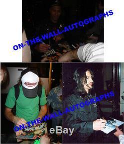 Rage Against The Machine Hand Signed Custom Framed Evil Empire Album Rare! Proof