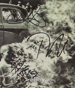 Rage Against The Machine Signed Autograph Record Album JSA Tom Morello +