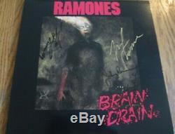 Ramones Double Signed Album Near Mint