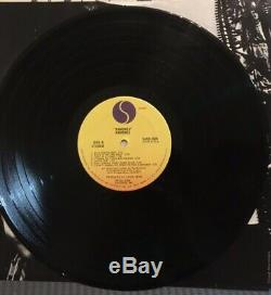 Ramones Ramones record album AUTOGRAPHED, 1st press SASD-7520 Sire 1976