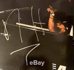 Rapper Nipsey Hussle signed 2018 Victory Lap Album Record Vinyl LP BAS BECKETT