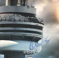 Rare Drizzy Drake Signed Autographed Views Vinyl Album Record Ovo Jsa Coa Loa