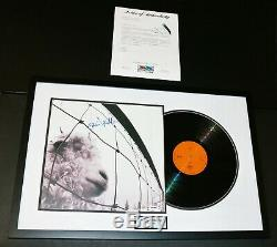 Rare Eddie Vedder Framed Signed Pearl Jam Vs Record Lp Album Autographed Psa Jsa