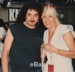 Rare Hear `n Aid Stars Autographed Record Album Rob Halford Dio 1986