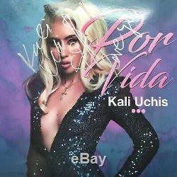 Rare Kali Uchis Signrd Autographed Por Vida Vinyl Record Album + Proof