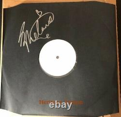 Rare Spice Girls Melanie C Signed Vinyl Lp White Label Test Pressing Promo Album