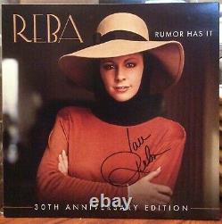 Reba Mcentire Signed Rumor Has It Lp Vinyl Album Record
