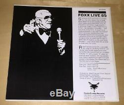 Redd Foxx Live 85 Autographed Album Signed Record 33 rpm 12 Sanford And Son