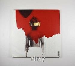 Rihanna Anti Autographed Signed Album LP Record Certified Beckett BAS COA