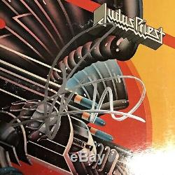 Rob Halford & Ian Hill Signed JUDAS PRIEST LP ALBUM Autographed Record