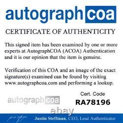 Robert Plant Autographed Signed LP Album Record Led Zeppelin ACOA