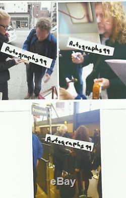 Robert Plant signed lp coa + Proof! Led Zeppelin autographed album