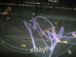 SAMMY HAGAR & THE CIRCLE signed/autographed Vinyl record album VAN HALEN