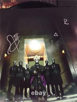 SIGNED Tobias Forge & 2 Ghouls Ghost Meliora Vinyl Record Album With JSA COA