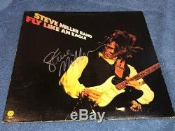 STEVE MILLER Autographed Signed Fly Like An Eagle Record Album LP