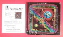 STEVE PERRY AND JOURNEY X5 COMPLETE SIGNED DEPARTURE LP ALBUM BAS LOA psa jsa