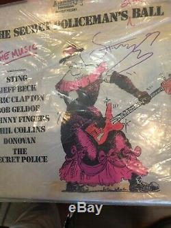 STING THE POLICE SIGNED AUTOGRAPHED VINYL RECORD ALBUM Authentic